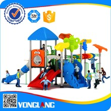2015 New style outdoor plastic products play equipment for kids