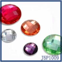 Ball shaped flat resin stone fashion jewelry accessory