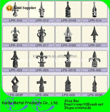 cheap wrought iron fence finials wholesale