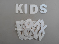 school supplies wooden cheap letter alphabet popular design small wood letter on sale