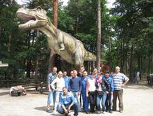 Professional Zigong Dinosaur maker dinosaur party supplies
