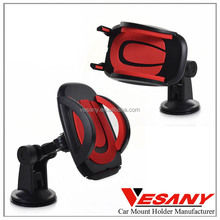 vesany 2015 new strong suction cup mount for iphone easy one touch smart phone car holder