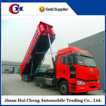 China famous brand and high quality dump/dumping/dumper/tipping semi trailer for sale