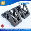 Custom injection plastic factory/ maker/ manufacture Custom made pvc corner profile