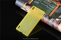 Trending hot products ultra thin 0.3mm clear transparent case cover for huawei P7
