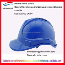 blue safety helmet/industrial safety helmet/construction safety helmet