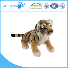 safe soft toy tiger pattern with low price
