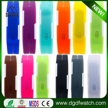 factory direct price fashion touch screen led silicon watch women fashion hand wrist watch woman