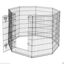 portable metal pet pen