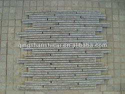 onyx split face mosaic tiles