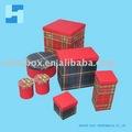 Impressão cmyk livro caixa modelo