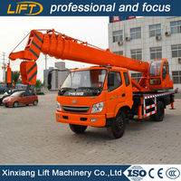 Popular 10 ton mobile truck crane with competitive price