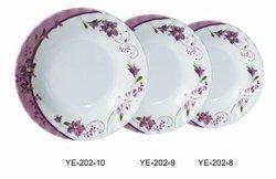 Kitchenware - dinner set - Melamine plate 2015 new design salad plate 100% malemine