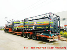 ASME ISO 20ft HCL acid Tank Containers hydrochloric acid tank factory price sale Call:86-15271357675