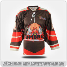 ice hockey top design with sublimation print