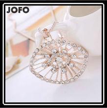 2015 de la alta calidad ojo turco oro pendiente del collar de la joyería barata! ZLJ0210