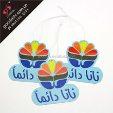 Fashion Car accessories gifts Absorbent paper Material rose scented air freshener