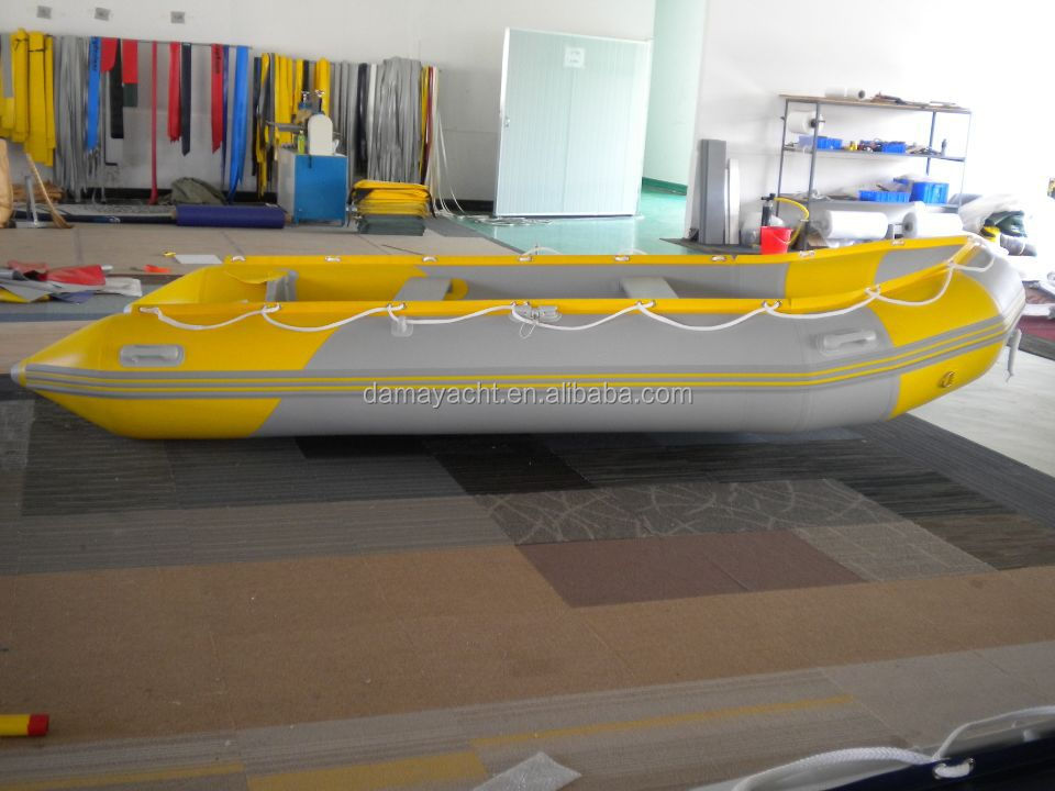fishing inflatable rowing PVC motor leisure pontoon china boat