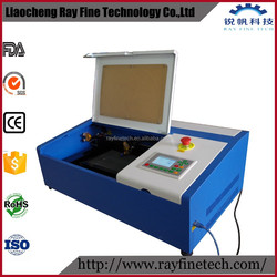 high speed dsp color screen 300*300 desktop laser cuting paper machine