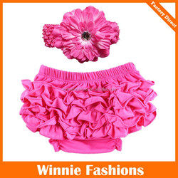Baby girls or boys panty colorful Ruffles cotton Bloomers for kids shorts