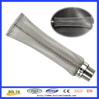 304 Stainless Steel Pipe Filter Mesh / Hop Strainer / Beer Brewing Equipment For Sale