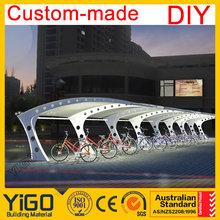Billiges metall Gebäude/flachdach Carport/Doppel-Carport Abmessungen