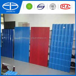 Building material plastic spanish roof tile