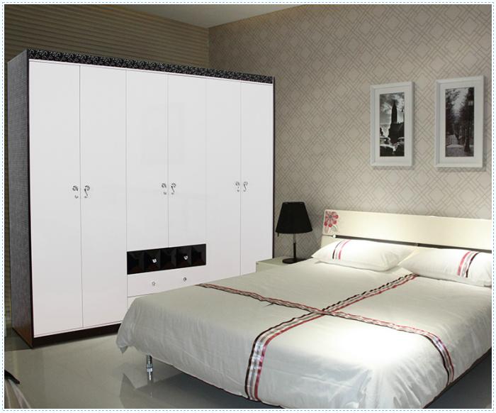 Modern bedroom hanging clothes designer almirah wardrobe buy wardrobe rail wardrobe cabinet - Stylish almirah for room ...