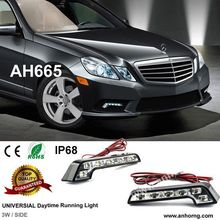 LED Headlight Flux Universial 12 Leds LED Daytime Runnging light CE RHOS Certification
