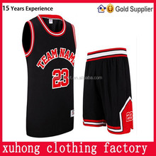 2015 China Manufacturer Custom Best Latest Basketball Jersey Design