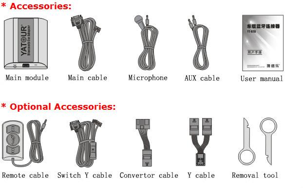 BTA-accessories