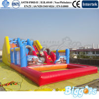 Giant Inflatable Water Slide For Adult Inflatable Water Slide With Pool
