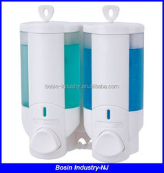 NJ-CD-2016A Double Plastic Wall Mounted Hand Sanitizer Dispenser