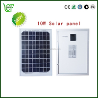 flexible small 10 watt poly solar panel with sunpower with CE