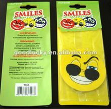 Promo smiling Car accessories Car Air Freshener