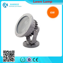 high efficiency decorative 220V 6W exterior garden lawn Security light lamp Garden Post Light