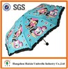 Hot New Products for 2015 Nice Style Promotional Gifts 3 Folding Custom Printed Umbrella Windproof