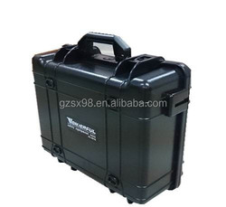 small size plastic flight case with portable handle