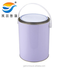 5L metal pail for paint, tin can for paint
