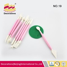 8 pcs Good quality hard cake decorating pen for flower toy curving popular decoration tools