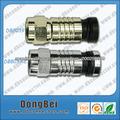 tipos de conectores / conector coaxial / conector RG6 / conector del cable f rg6 / u