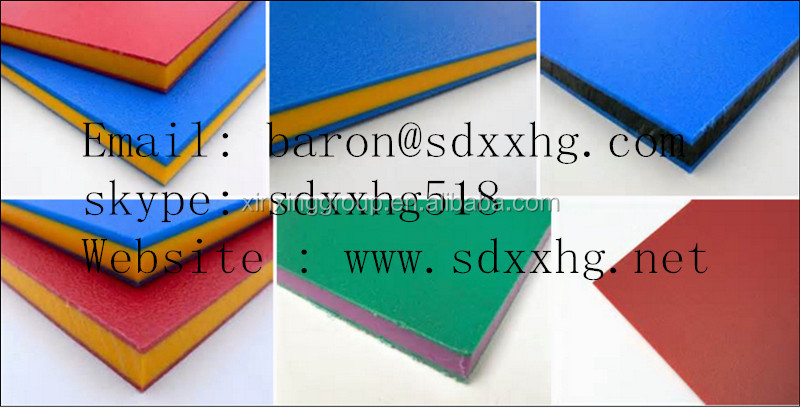 Sandwich 3 Layer Hdpe Double Color Plastic Sheet And Board,Two ...
