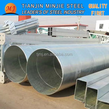 galvanized spiral pipe X52 for oil and gas transportation