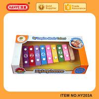 12 Scale electronic xylophone, hand knocks xylophone