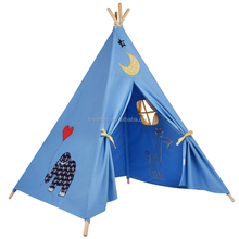 Pop-up Play Tent Kids Child Cubby House Kids Large Pirate Play Tent House