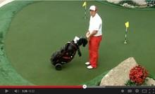 Helix 2015 Nylon golf bag hood cover/ nylon golf bag with wheels / golf cart bag with wheels