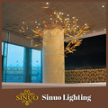 pingente luzes promocionais seco galho de árvore de decoração