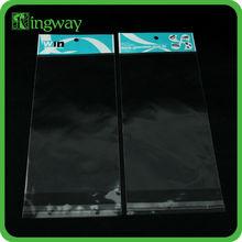 Biodegradable impreso plástico del bolso del OPP con header que hace precio <span class=keywords><strong>de</strong></span> la máquina