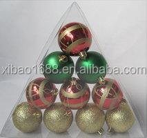 2015 New Design mixed Plastic Decoration Custom Printing balls