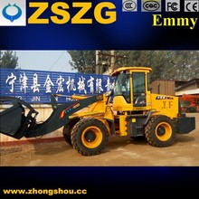 ZSZG brand loader Tyre,Pilot control, joystick, China cheap loader sale